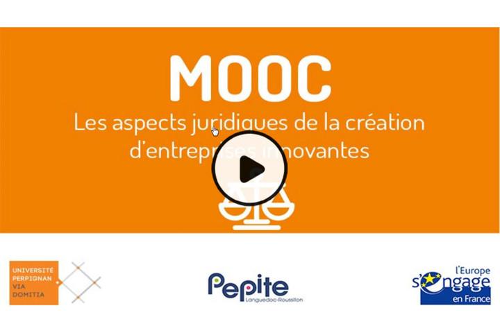 MOOC Aspects juridiques de la création d'entreprises innovantes