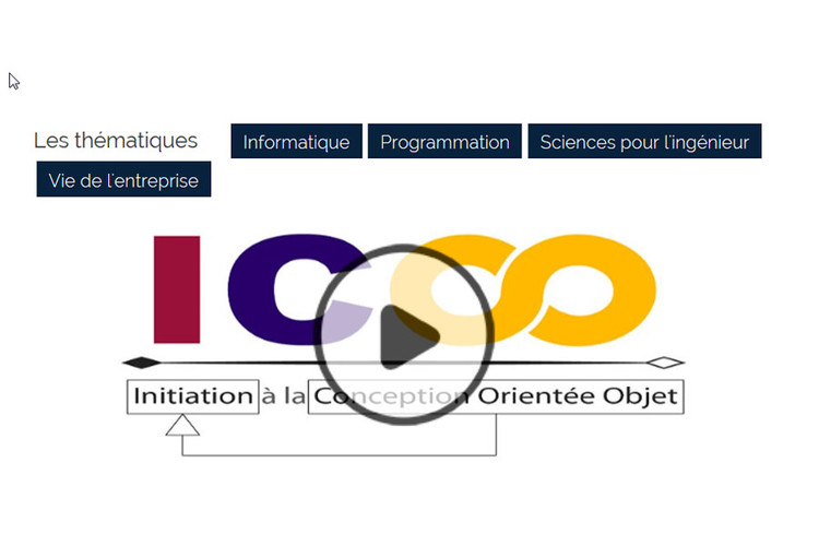 MOOC Initiation à la conception orientée objet
