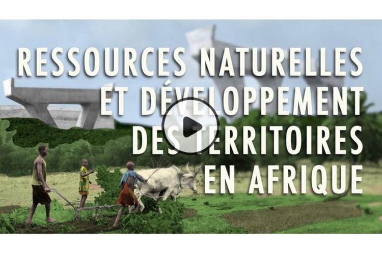 MOOC Ressources naturelles et développement de territoires en Afrique