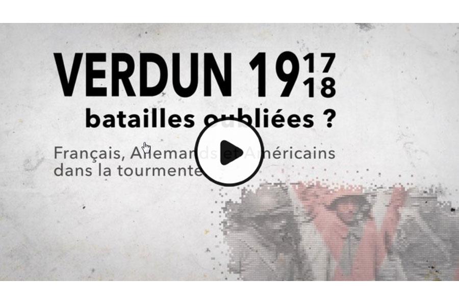 MOOC Verdun 1917-1918 : batailles oubliées ? Français, Allemands et...