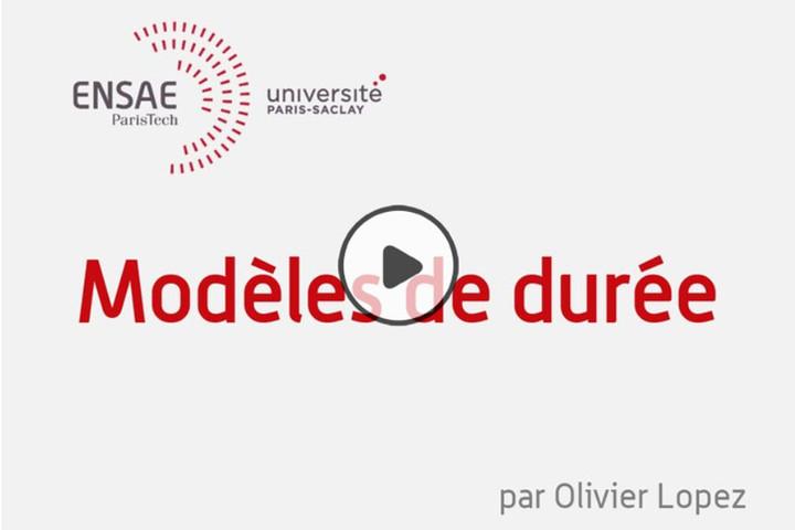 MOOC Modèles de durée