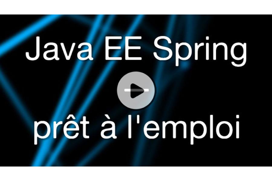 MOOC Java E.E. Spring prêt à l'emploi