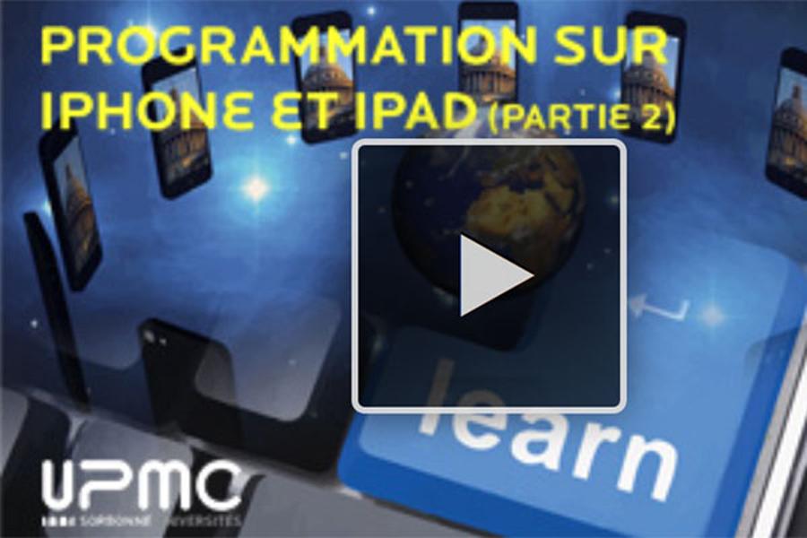 MOOC Programmation sur iPhone et iPad (partie II)