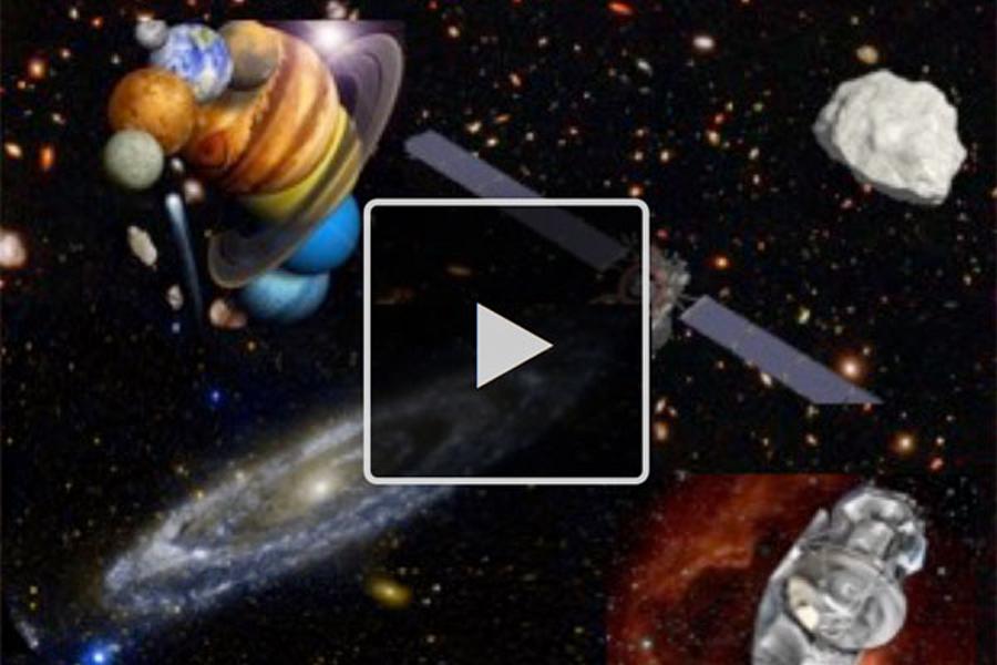 MOOC Astrophysique : du système solaire au big bang