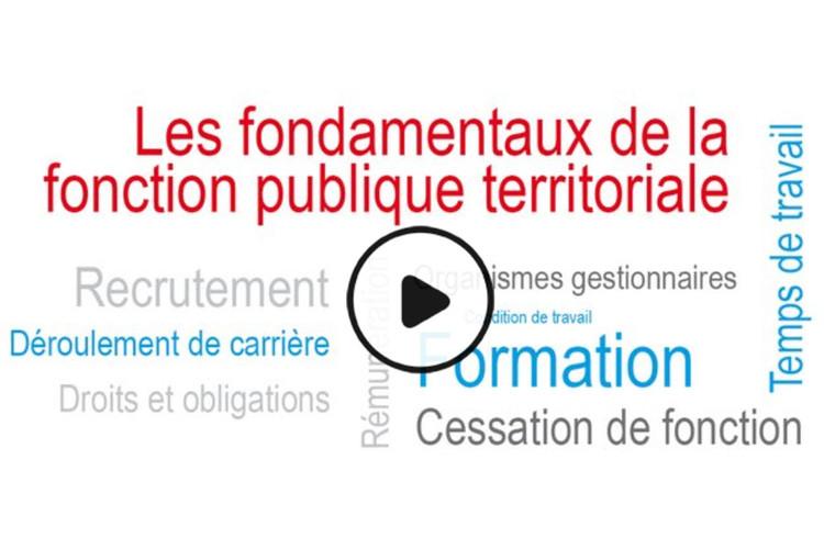 MOOC Les fondamentaux de la fonction publiqued territoriale
