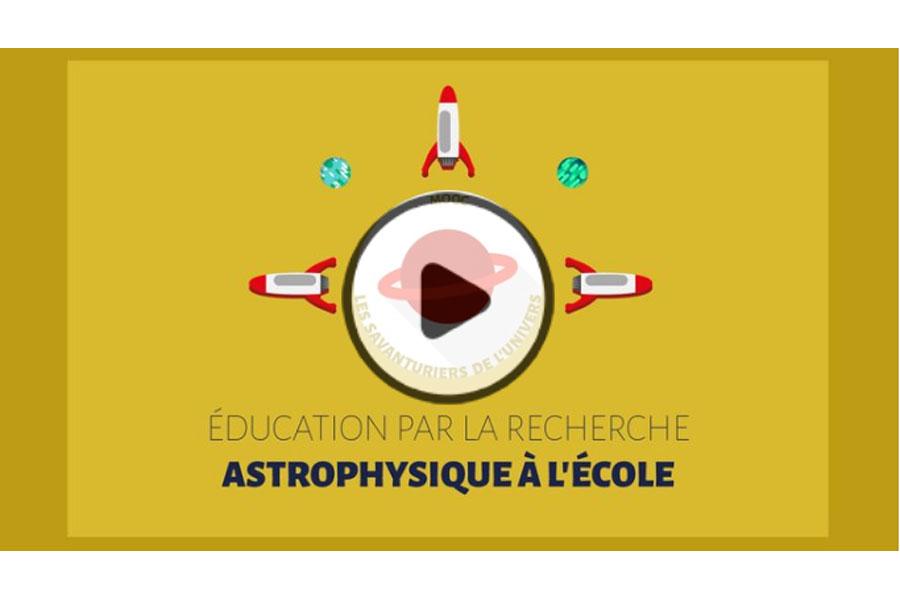 MOOC Éducation par la recherche : astrophysique à l'École