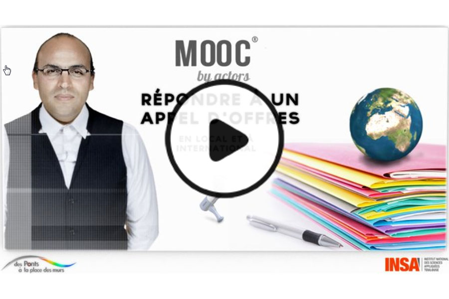 MOOC Répondre à un appel d'offres local ou international