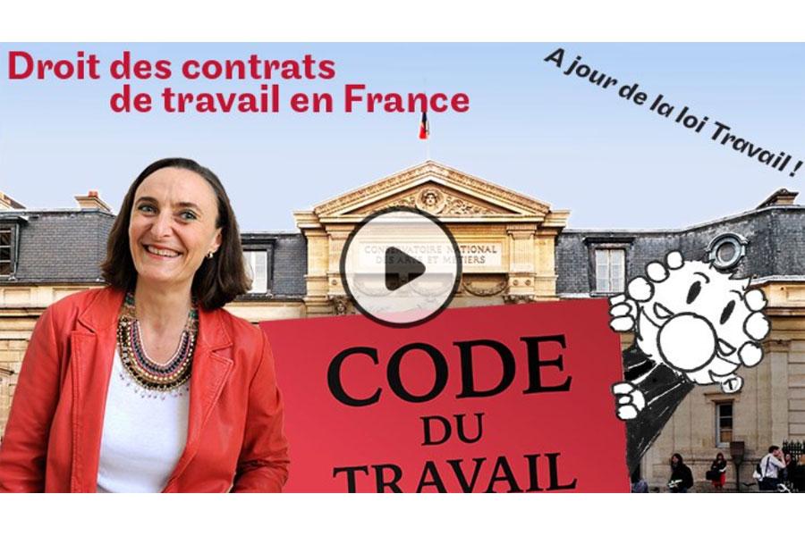 MOOC Le droit des contrats de travail en France
