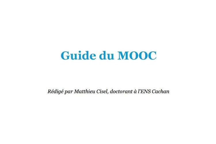 Guide du MOOC