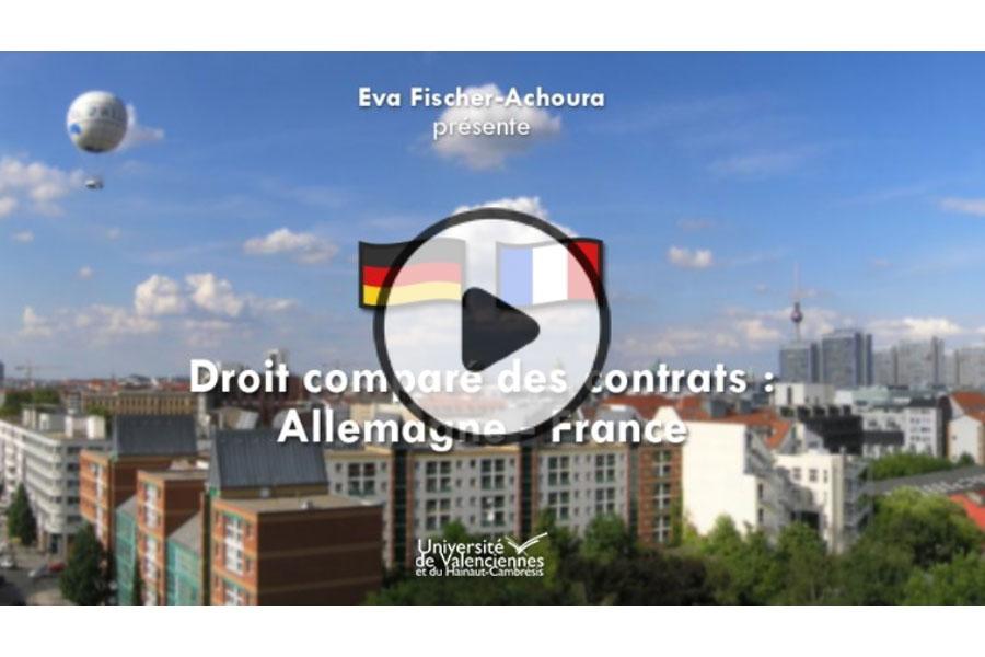MOOC Droit comparé des contrats : Allemagne - France