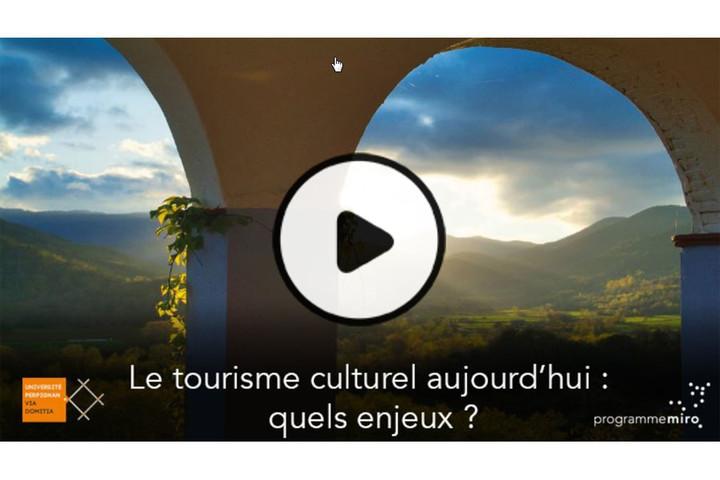 MOOC Le tourisme culturel aujourd'hui : quels enjeux ?