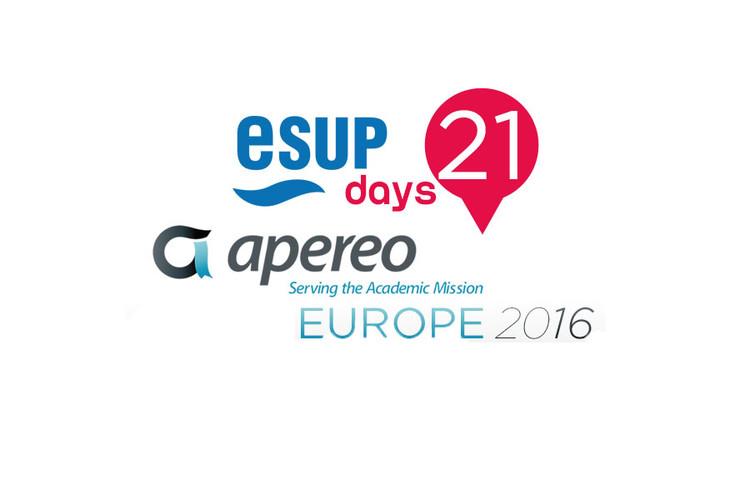 Journées ESUP #21 et APEREO Europe 2016