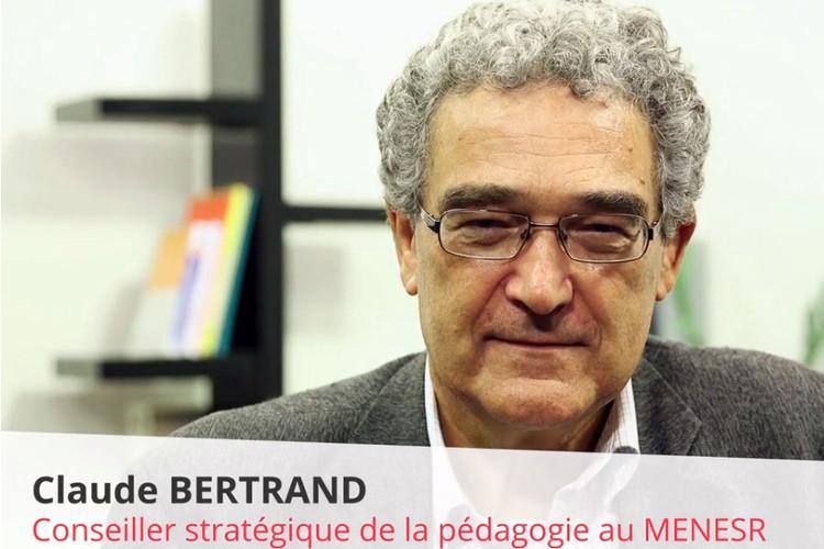 Claude Bertrand, conseiller stratégique pédagogie à la DGESIP