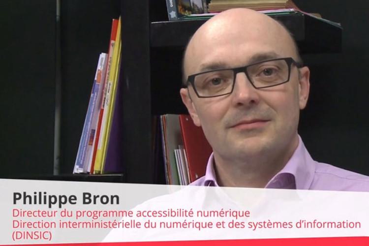 Philippe Bron, Directeur du programme accessibilité numérique