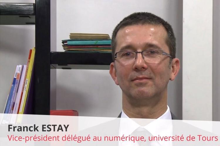 Franck Estay, Vice-président délégué aux TIC-Université François Rabelais de Tours