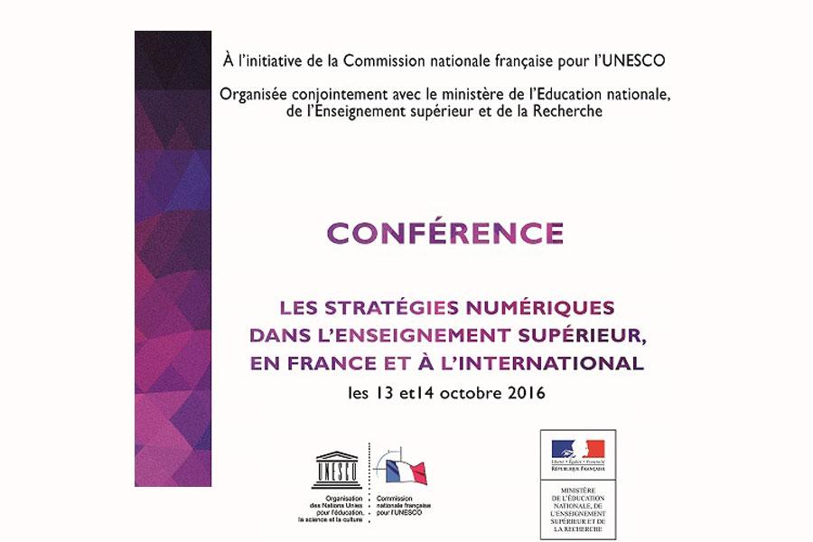 Les stratégies du numérique dans l'enseignement supérieur, en France et à...