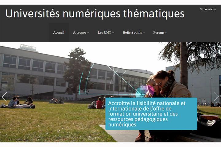 Les Universités Numériques Thématiques (U.N.T.) au service des communautés de...